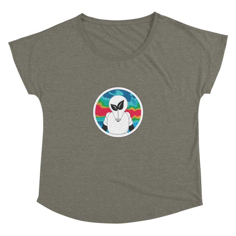 Space Buckets - Simple Logo Women's Dolman by spacebuckets's Artist Shop