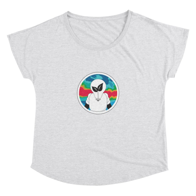 Space Buckets - Simple Logo Women's Dolman Scoop Neck by spacebuckets's Artist Shop