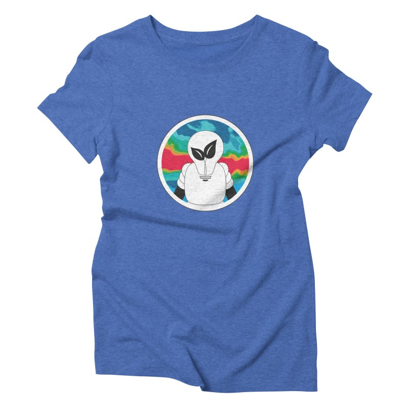Space Buckets - Simple Logo Women's Triblend T-Shirt by spacebuckets's Artist Shop
