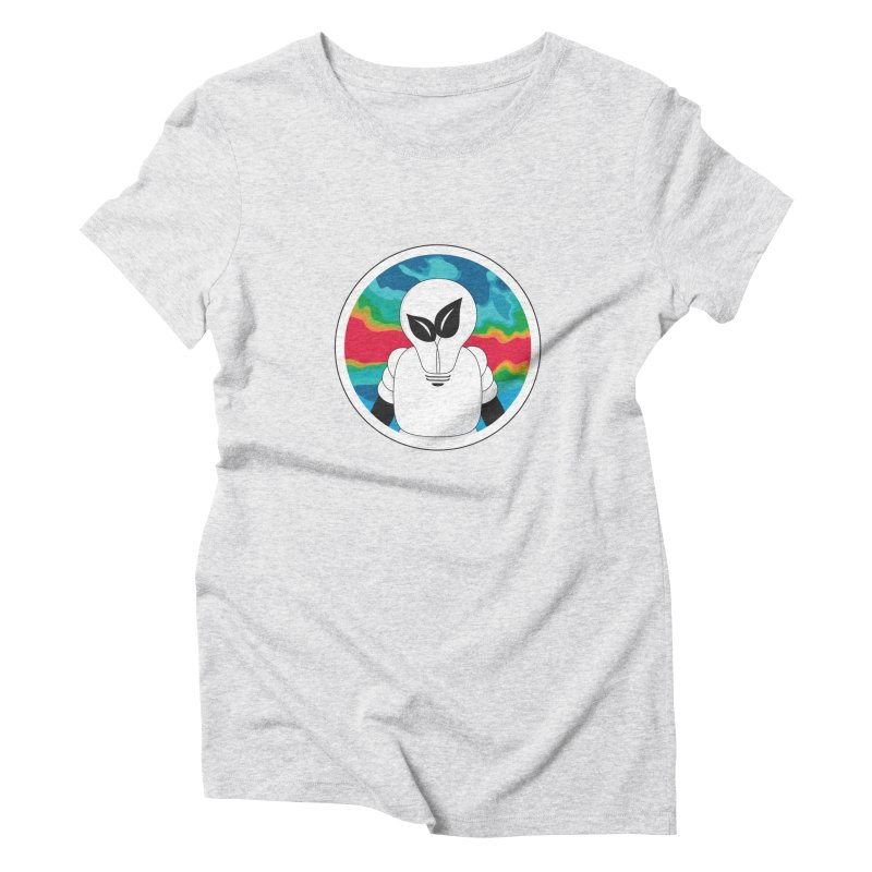 Space Buckets - Simple Logo Women's Triblend T-Shirt by spacebuckets's Artist Shop