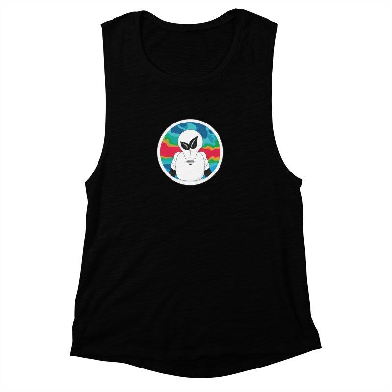Space Buckets - Simple Logo Women's Tank by spacebuckets's Artist Shop