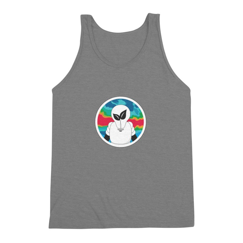 Space Buckets - Simple Logo Men's Triblend Tank by spacebuckets's Artist Shop