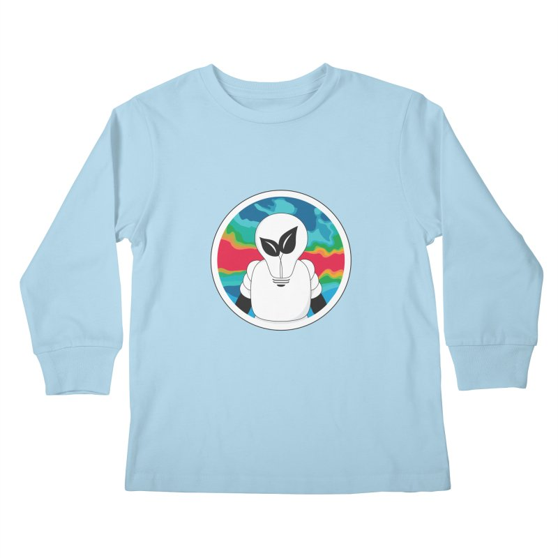 Space Buckets - Simple Logo Kids Longsleeve T-Shirt by spacebuckets's Artist Shop