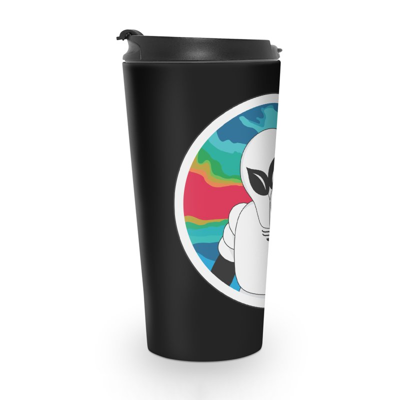 Space Buckets - Simple Logo Big Accessories Travel Mug by spacebuckets's Artist Shop