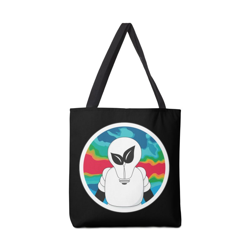 Space Buckets - Simple Logo Big Accessories Bag by spacebuckets's Artist Shop