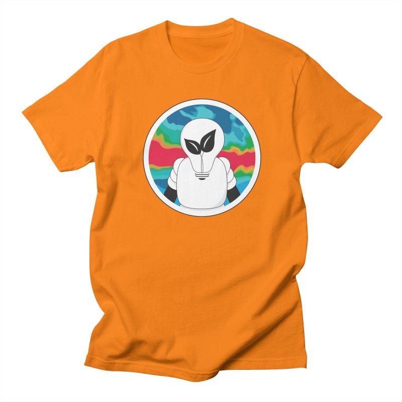 Space Buckets - Simple Logo Big Men's T-Shirt by spacebuckets's Artist Shop