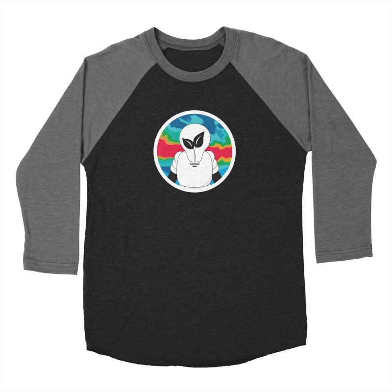 Space Buckets - Simple Logo Big Women's Baseball Triblend Longsleeve T-Shirt by spacebuckets's Artist Shop