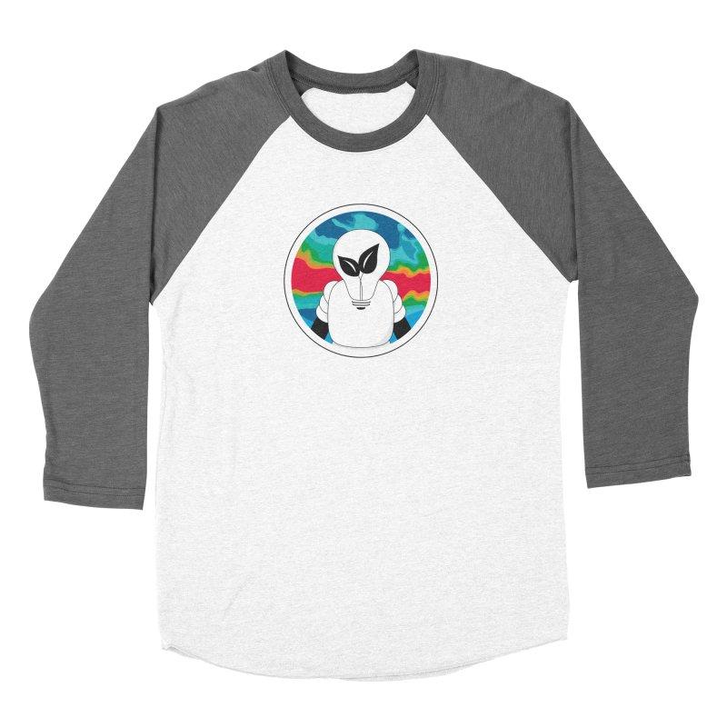 Space Buckets - Simple Logo Big Men's Baseball Triblend Longsleeve T-Shirt by spacebuckets's Artist Shop