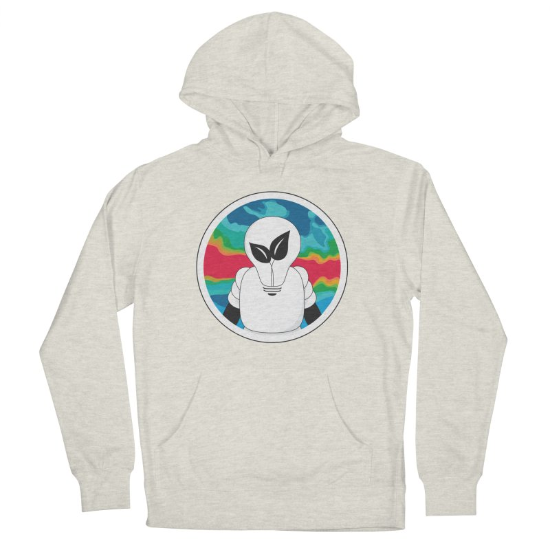 Space Buckets - Simple Logo Big Women's Pullover Hoody by spacebuckets's Artist Shop