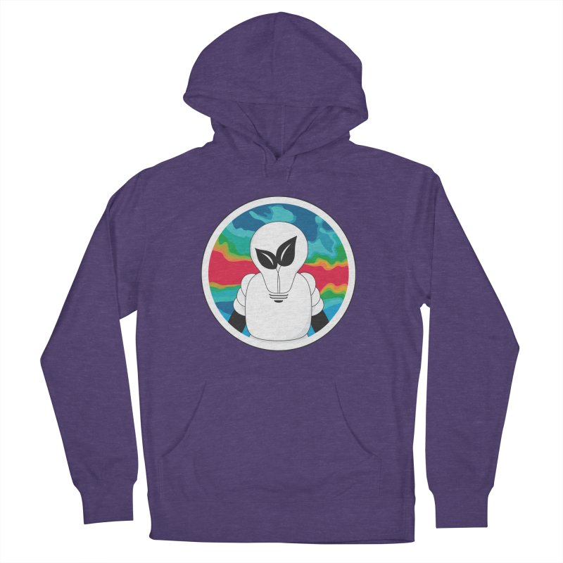 Space Buckets - Simple Logo Big Men's French Terry Pullover Hoody by spacebuckets's Artist Shop