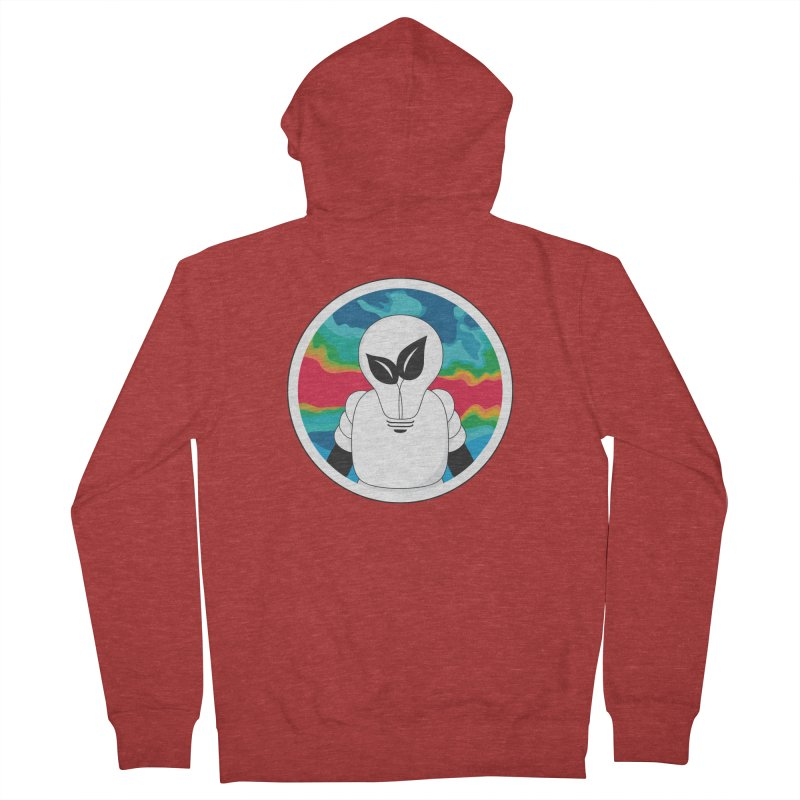 Space Buckets - Simple Logo Big Women's French Terry Zip-Up Hoody by spacebuckets's Artist Shop