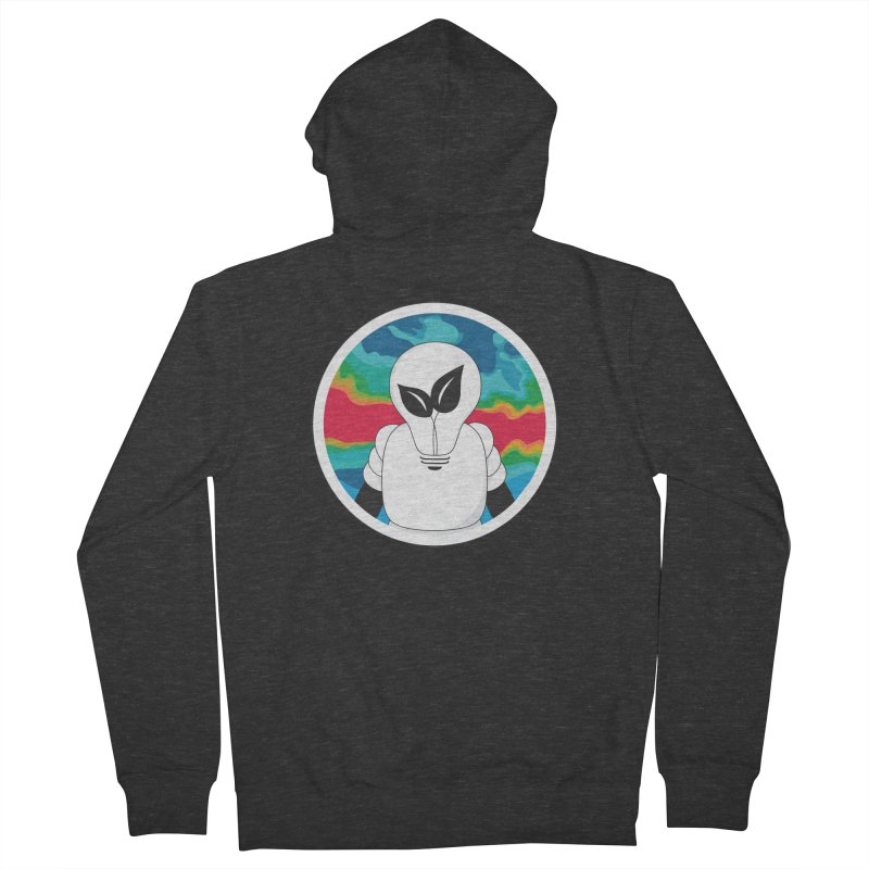 Space Buckets - Simple Logo Big Men's French Terry Zip-Up Hoody by spacebuckets's Artist Shop