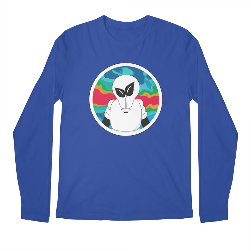 Space Buckets - Simple Logo Big Men's Regular Longsleeve T-Shirt by spacebuckets's Artist Shop