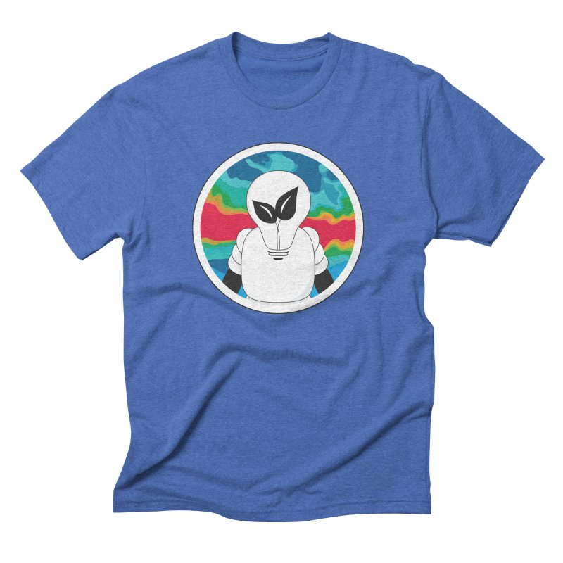 Space Buckets - Simple Logo Big Men's Triblend T-Shirt by spacebuckets's Artist Shop