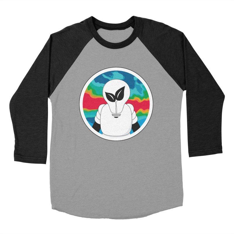 Space Buckets - Simple Logo Big Men's Baseball Triblend T-Shirt by spacebuckets's Artist Shop