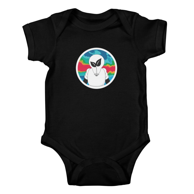 Space Buckets - Simple Logo Big Kids Baby Bodysuit by spacebuckets's Artist Shop