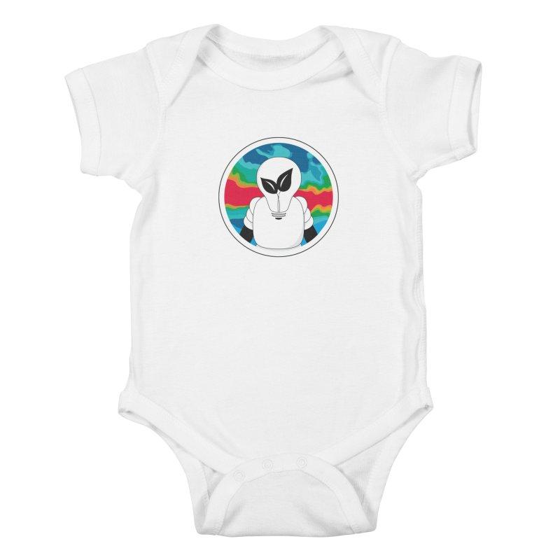 Space Buckets - Simple Logo Big Kids Baby Bodysuit by spacebuckets's Artist Shop
