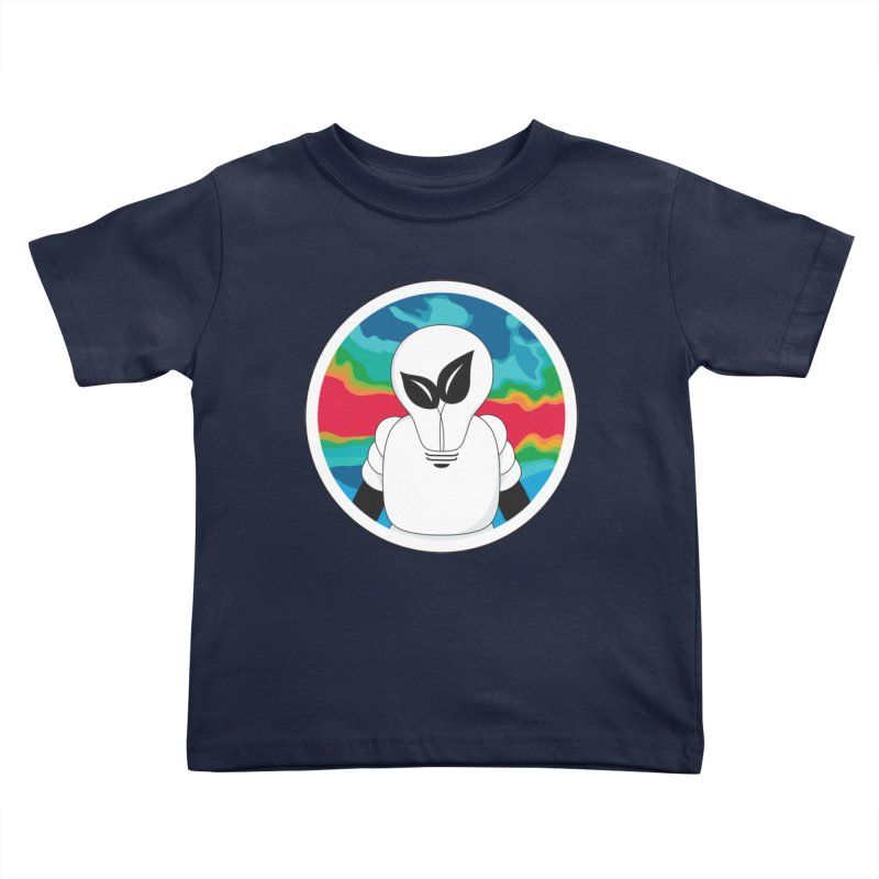 Space Buckets - Simple Logo Big Kids Toddler T-Shirt by spacebuckets's Artist Shop