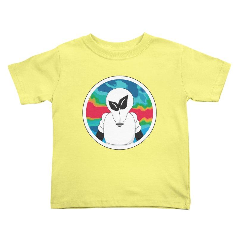 Space Buckets - Simple Logo Big Kids Toddler T-Shirt by spacebuckets's Artist Shop