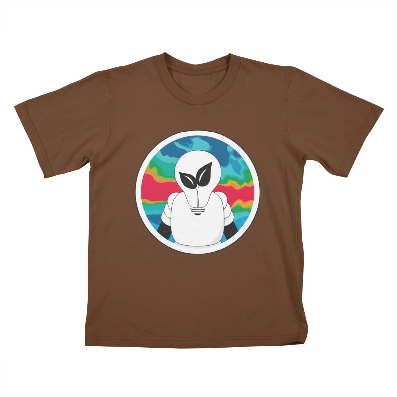 Space Buckets - Simple Logo Big Kids T-Shirt by spacebuckets's Artist Shop
