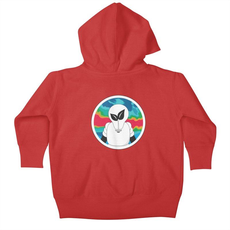 Space Buckets - Simple Logo Big Kids Baby Zip-Up Hoody by spacebuckets's Artist Shop
