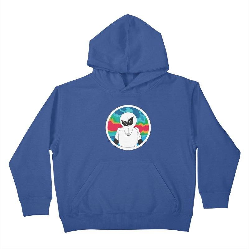 Space Buckets - Simple Logo Big Kids Pullover Hoody by spacebuckets's Artist Shop