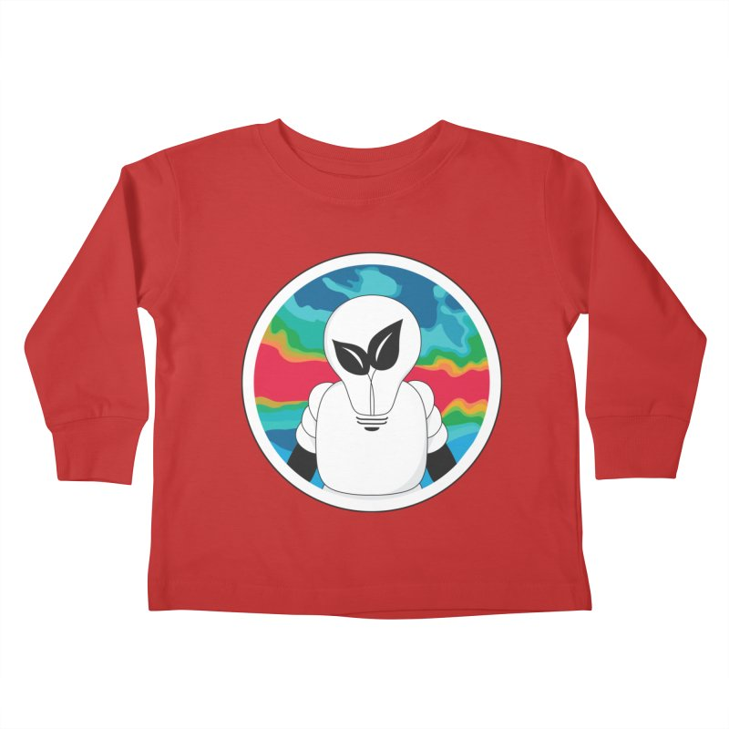 Space Buckets - Simple Logo Big Kids Toddler Longsleeve T-Shirt by spacebuckets's Artist Shop