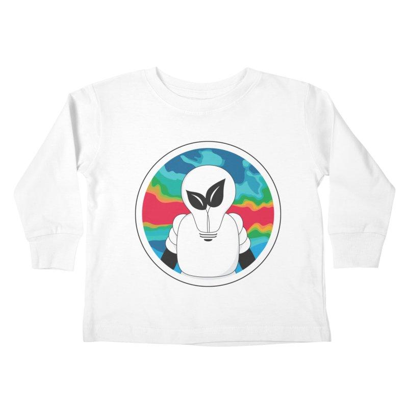 Space Buckets - Simple Logo Big Kids Toddler Longsleeve T-Shirt by spacebuckets's Artist Shop