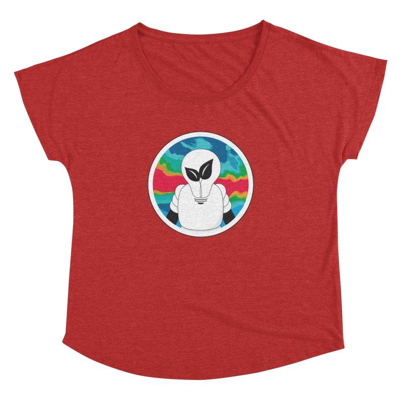 Space Buckets - Simple Logo Big Women's Dolman by spacebuckets's Artist Shop