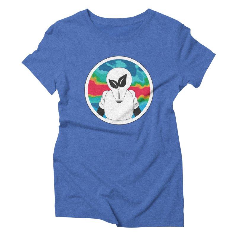 Space Buckets - Simple Logo Big Women's Triblend T-Shirt by spacebuckets's Artist Shop