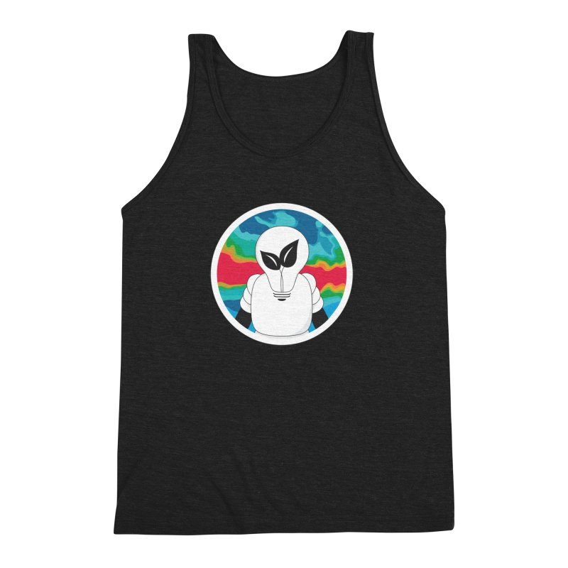 Space Buckets - Simple Logo Big Men's Tank by spacebuckets's Artist Shop