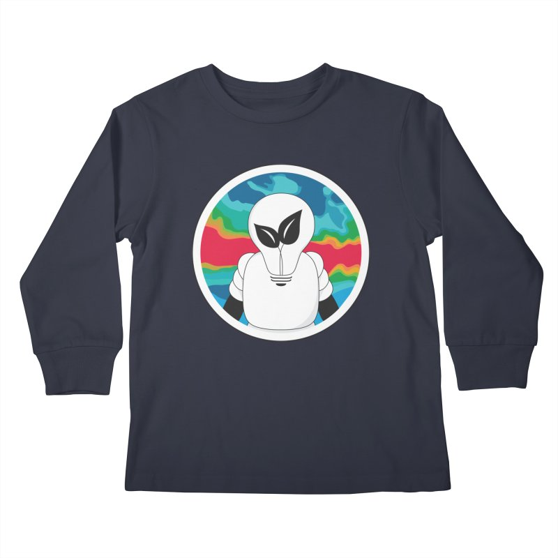 Space Buckets - Simple Logo Big Kids Longsleeve T-Shirt by spacebuckets's Artist Shop
