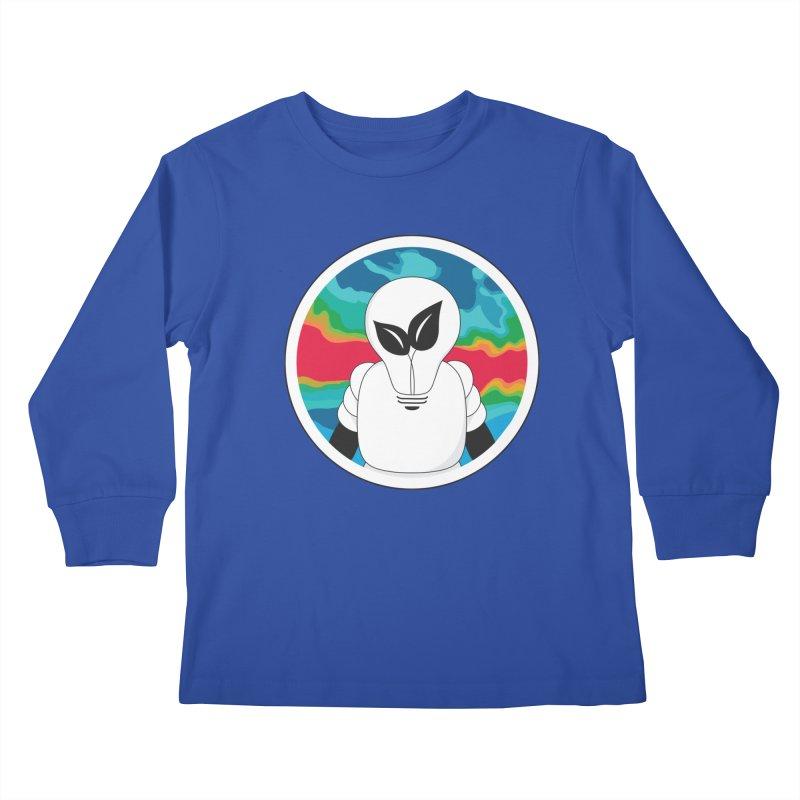 Space Buckets - Simple Logo Big Kids Longsleeve T-Shirt by spacebuckets's Artist Shop