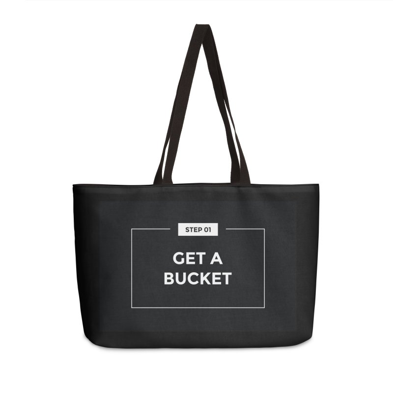 Get a bucket Accessories Bag by spacebuckets's Artist Shop