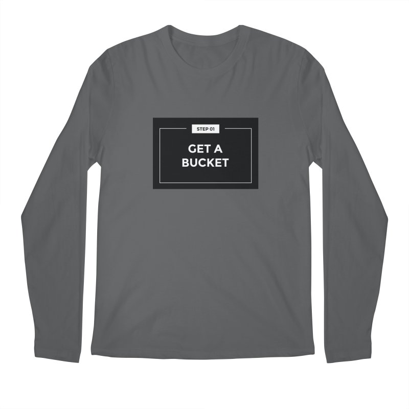 Get a bucket Men's Longsleeve T-Shirt by spacebuckets's Artist Shop