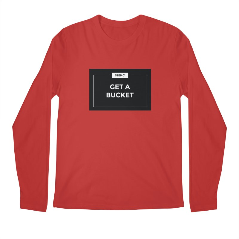 Get a bucket Men's Regular Longsleeve T-Shirt by spacebuckets's Artist Shop
