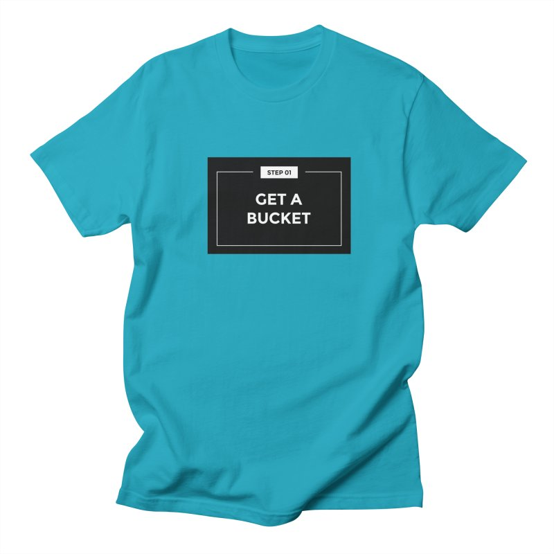 Get a bucket Men's T-shirt by spacebuckets's Artist Shop