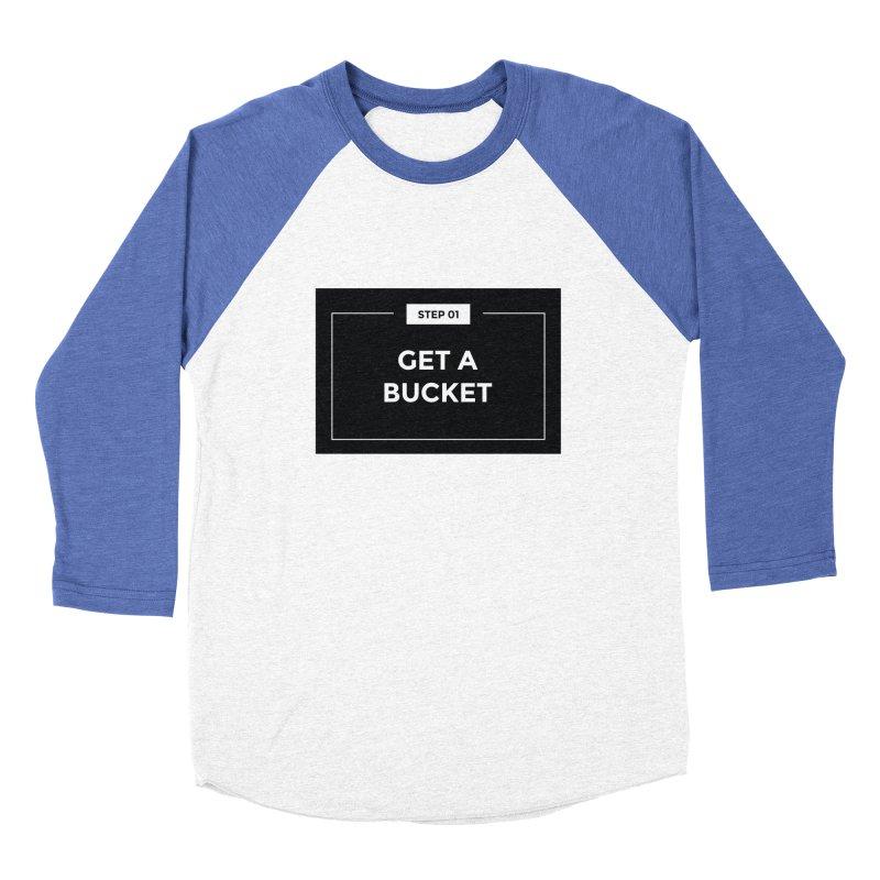 Get a bucket Men's Baseball Triblend T-Shirt by spacebuckets's Artist Shop