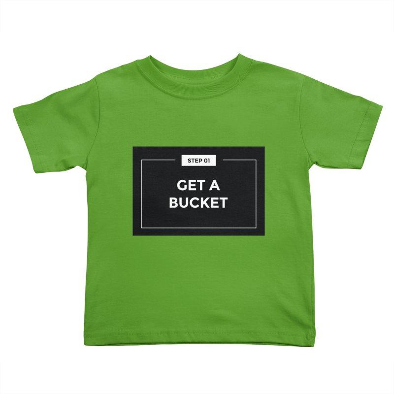 Get a bucket Kids Toddler T-Shirt by spacebuckets's Artist Shop