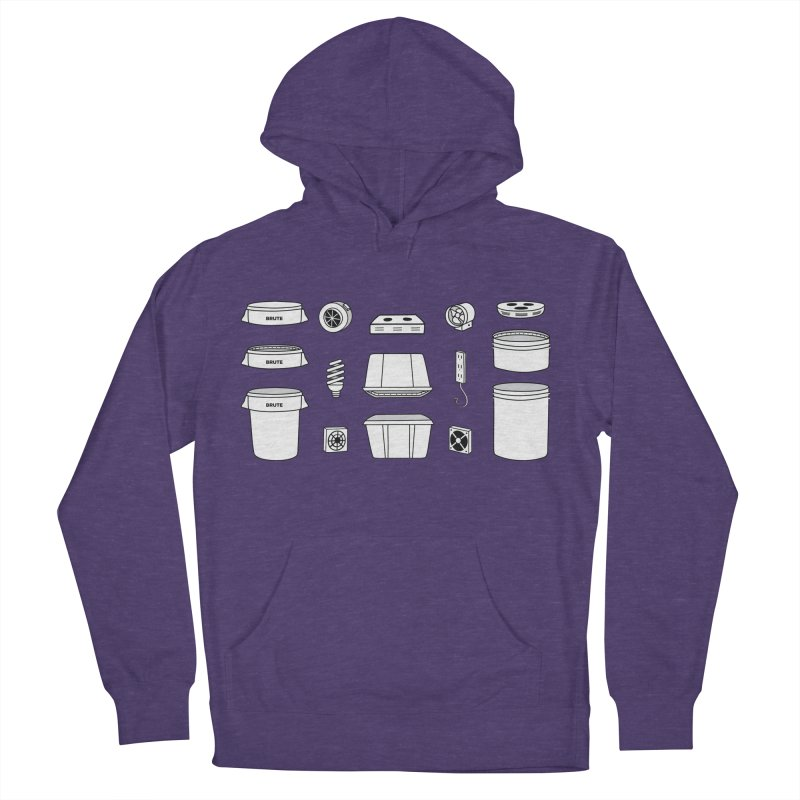 Bucket Builder Men's Pullover Hoody by spacebuckets's Artist Shop