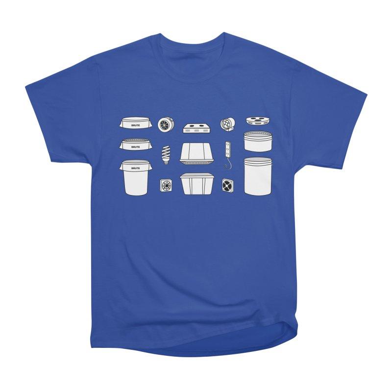 Bucket Builder Women's Heavyweight Unisex T-Shirt by spacebuckets's Artist Shop