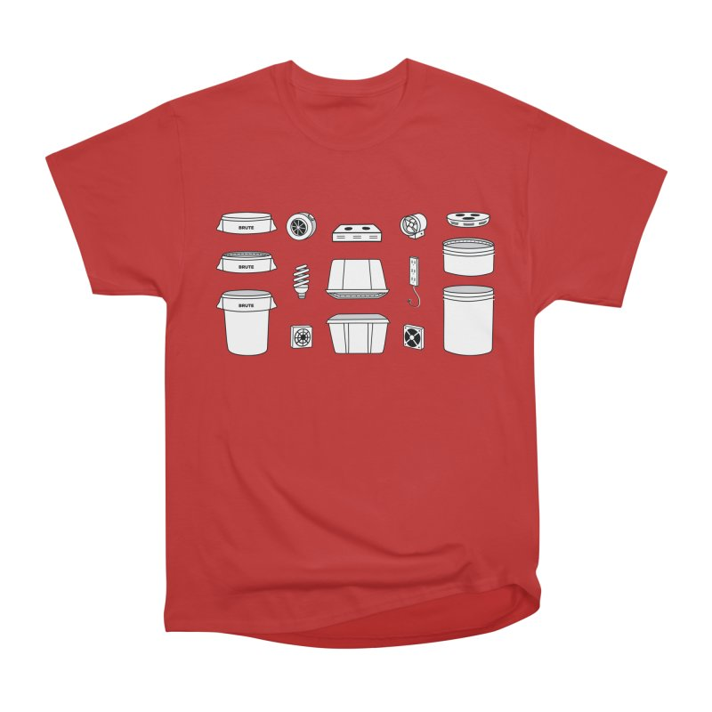 Bucket Builder Men's Heavyweight T-Shirt by spacebuckets's Artist Shop