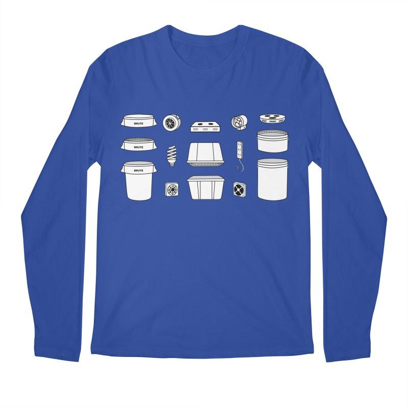 Bucket Builder Men's Regular Longsleeve T-Shirt by spacebuckets's Artist Shop