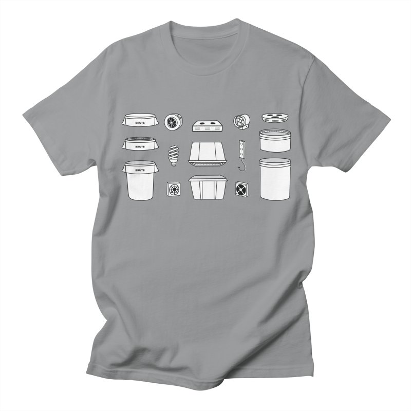 Bucket Builder Men's T-Shirt by spacebuckets's Artist Shop