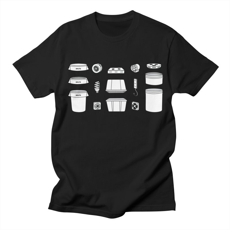 Bucket Builder Women's Regular Unisex T-Shirt by spacebuckets's Artist Shop