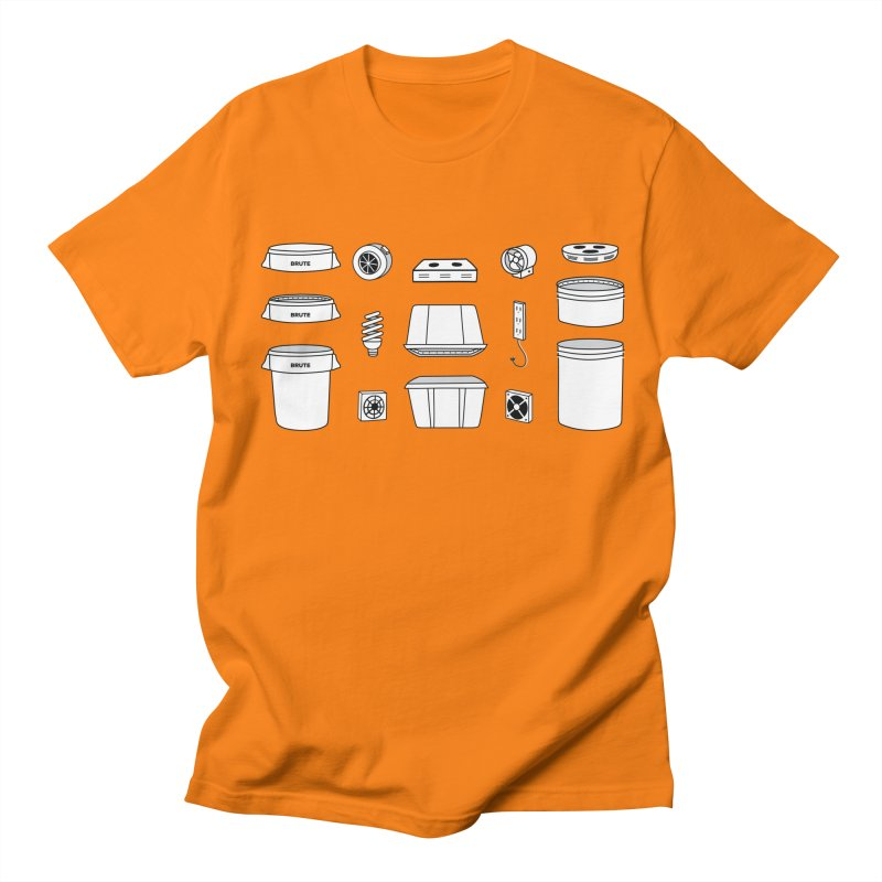 Bucket Builder Men's Regular T-Shirt by spacebuckets's Artist Shop