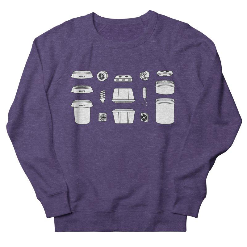 Bucket Builder Women's French Terry Sweatshirt by spacebuckets's Artist Shop