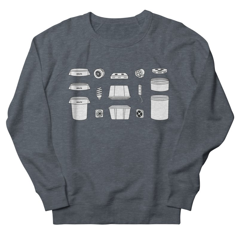 Bucket Builder Men's French Terry Sweatshirt by spacebuckets's Artist Shop