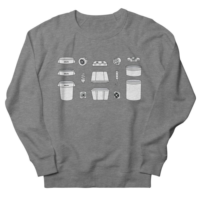 Bucket Builder Men's French Terry Sweatshirt by spacebuckets's Artist Shop