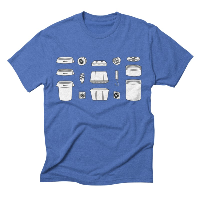 Bucket Builder Men's Triblend T-Shirt by spacebuckets's Artist Shop